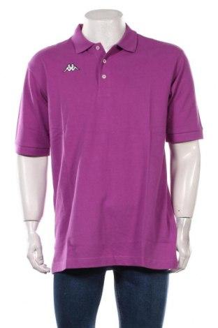 Мъжка тениска Kappa, Размер XL, Цвят Лилав, Памук, Цена 27,00лв.