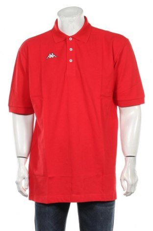 Tricou de bărbați Kappa, Mărime XXL, Culoare Roșu, Bumbac, Preț 71,05 Lei
