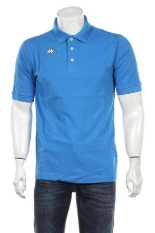 Мъжка тениска Kappa, Размер M, Цвят Син, Памук, Цена 21,60лв.