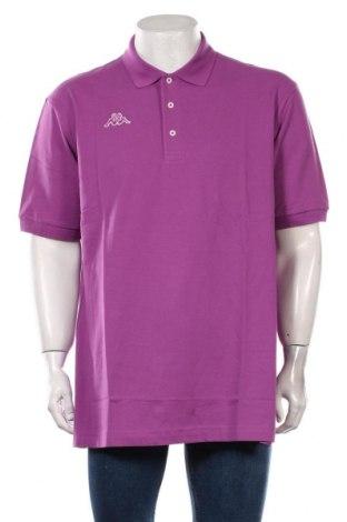 Мъжка тениска Kappa, Размер XXL, Цвят Лилав, Памук, Цена 29,25лв.