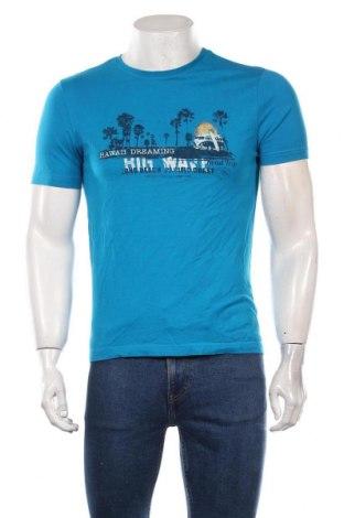 Мъжка тениска LC Waikiki, Размер S, Цвят Син, Цена 15,75лв.