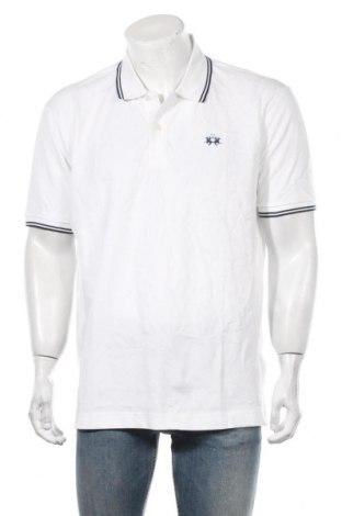 Мъжка тениска La Martina, Размер XXL, Цвят Бял, Памук, Цена 67,32лв.