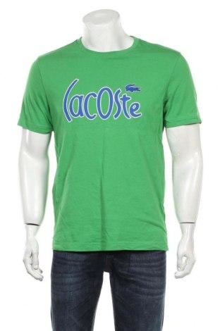 Tricou de bărbați Lacoste, Mărime L, Culoare Verde, 100% bumbac, Preț 134,87 Lei