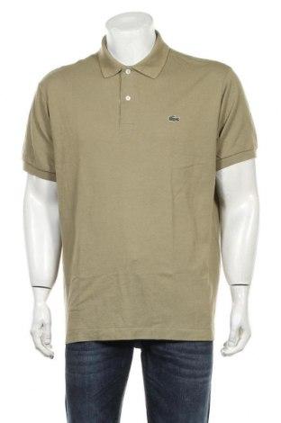 Мъжка тениска Lacoste, Размер XXL, Цвят Зелен, Памук, Цена 61,50лв.