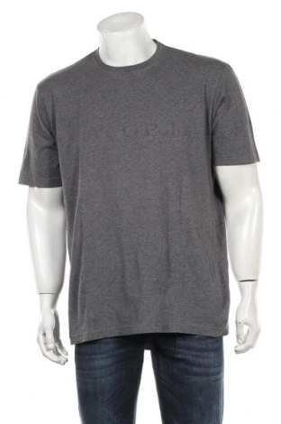 Мъжка тениска Marc O'Polo, Размер XXL, Цвят Сив, Памук, Цена 29,25лв.