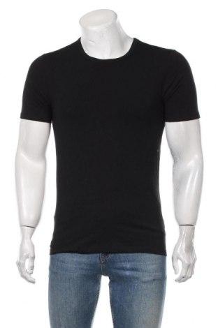 Мъжка тениска McNeal, Размер M, Цвят Черен, 95% памук, 5% еластан, Цена 24,00лв.