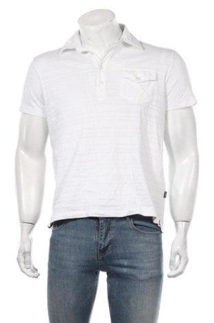 Мъжка тениска Mexx, Размер L, Цвят Бял, 60% памук, 40% полиамид, Цена 15,75лв.