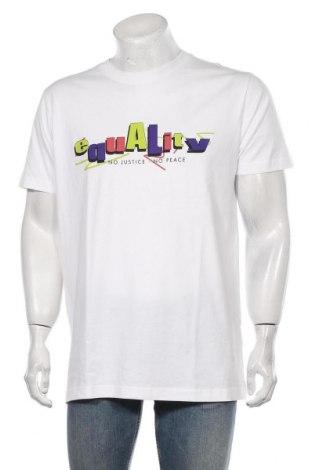 Мъжка тениска Mister Tee, Размер XL, Цвят Бял, Памук, Цена 18,56лв.