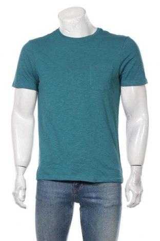 Мъжка тениска Montego, Размер S, Цвят Син, Памук, Цена 19,50лв.