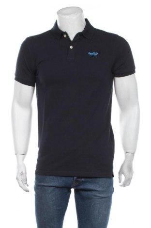Мъжка тениска Petrol Industries, Размер M, Цвят Син, Памук, Цена 29,25лв.