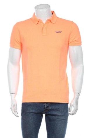 Мъжка тениска Petrol Industries, Размер M, Цвят Оранжев, Памук, Цена 29,25лв.