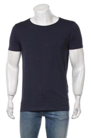 Мъжка тениска Petrol Industries, Размер M, Цвят Син, 95% памук, 5% еластан, Цена 21,00лв.