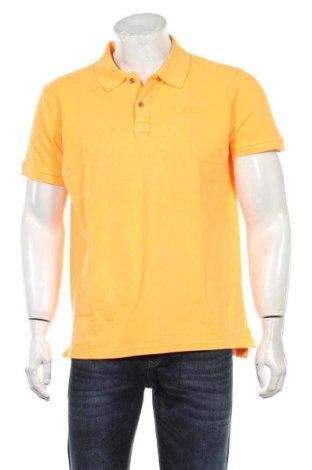 Tricou de bărbați Petrol Industries, Mărime L, Culoare Portocaliu, Bumbac, Preț 105,26 Lei