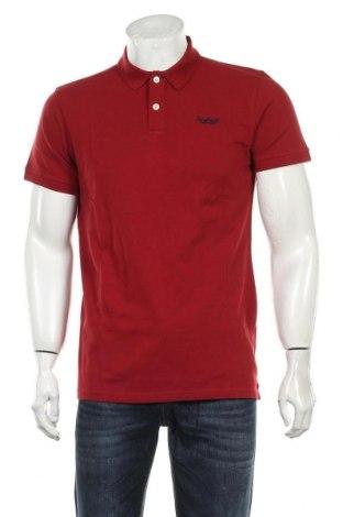 Tricou de bărbați Petrol Industries, Mărime L, Culoare Roșu, Bumbac, Preț 128,29 Lei