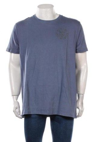 Tricou de bărbați Petrol Industries, Mărime XXL, Culoare Albastru, Bumbac, Preț 111,84 Lei