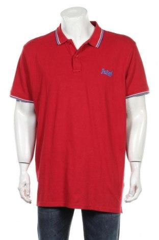 Мъжка тениска Petrol Industries, Размер 3XL, Цвят Червен, 95% памук, 5% еластан, Цена 25,50лв.