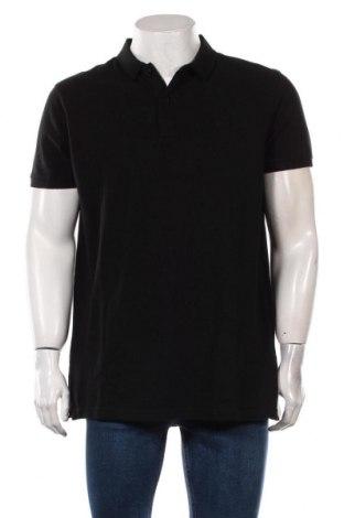 Мъжка тениска Petrol Industries, Размер XXL, Цвят Черен, Памук, Цена 29,25лв.