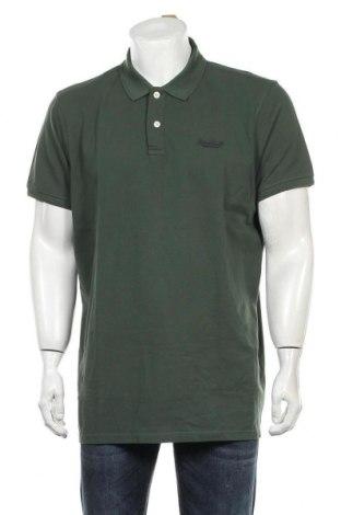 Мъжка тениска Petrol Industries, Размер 3XL, Цвят Зелен, Памук, Цена 25,50лв.
