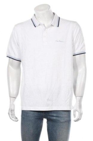 Мъжка тениска Pierre Cardin, Размер XXL, Цвят Бял, Памук, Цена 55,76лв.