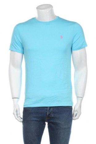 Мъжка тениска Polo By Ralph Lauren, Размер M, Цвят Син, Памук, Цена 60,52лв.