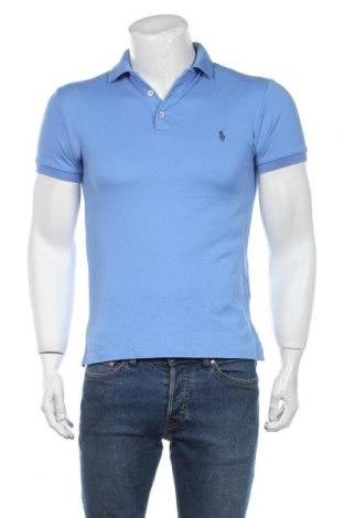 Мъжка тениска Polo By Ralph Lauren, Размер S, Цвят Син, 97% памук, 3% еластан, Цена 60,52лв.