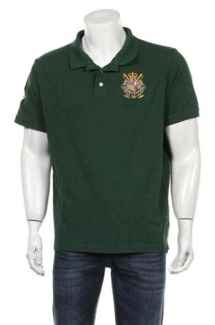 Мъжка тениска Polo Club, Размер XXL, Цвят Зелен, Памук, Цена 19,50лв.