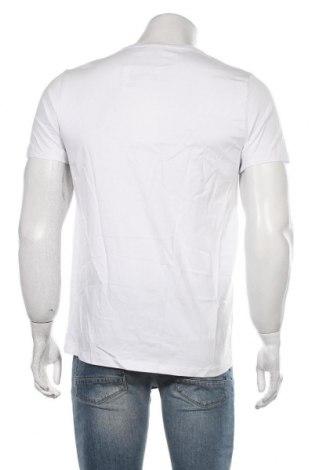 Мъжка тениска RNT23 Jeans, Размер M, Цвят Бял, Памук, Цена 35,40лв.