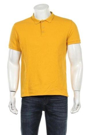 Мъжка тениска Reserved, Размер L, Цвят Жълт, Памук, Цена 21,00лв.