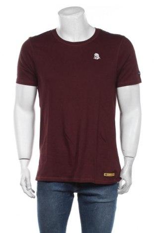 Мъжка тениска Schmuddelwedda, Размер L, Цвят Червен, 100% памук, Цена 36,75лв.