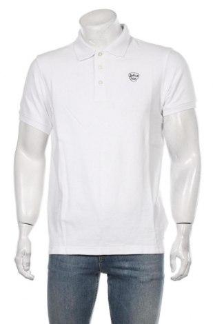 Tricou de bărbați Schott, Mărime L, Culoare Alb, Bumbac, Preț 96,18 Lei