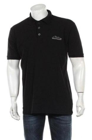 Мъжка тениска Schumacher, Размер XXL, Цвят Черен, Памук, Цена 21,00лв.