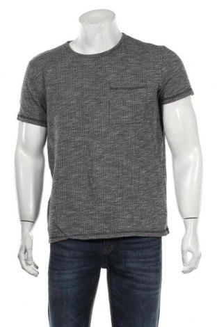 Męski T-shirt Selected Homme, Rozmiar L, Kolor Szary, 95% bawełna, 5% wiskoza, Cena 55,20zł