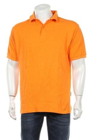Мъжка тениска Slazenger, Размер L, Цвят Оранжев, Памук, Цена 15,75лв.