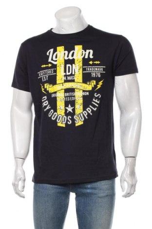Мъжка тениска Soulstar, Размер XL, Цвят Син, Памук, Цена 18,00лв.