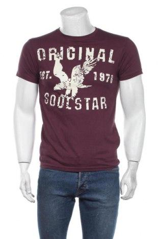 Мъжка тениска Soulstar, Размер S, Цвят Лилав, Памук, Цена 24,00лв.