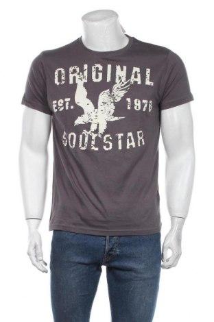 Мъжка тениска Soulstar, Размер L, Цвят Сив, Памук, Цена 16,77лв.