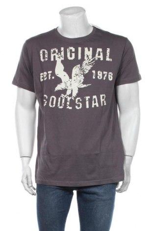 Мъжка тениска Soulstar, Размер XXL, Цвят Сив, Памук, Цена 23,40лв.