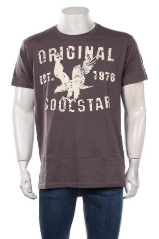 Tricou de bărbați Soulstar, Mărime XXL, Culoare Gri, Bumbac, Preț 95,39 Lei
