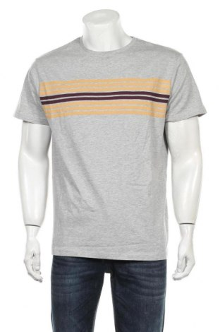 Мъжка тениска Soulstar, Размер XL, Цвят Сив, 90% памук, 10% вискоза, Цена 21,75лв.