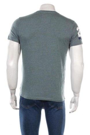 Мъжка тениска Superdry, Размер M, Цвят Син, 60% памук, 40% полиестер, Цена 40,30лв.