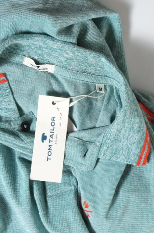Мъжка тениска Tom Tailor, Размер M, Цвят Син, Памук, Цена 28,42лв.