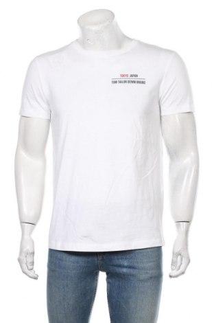 Męski T-shirt Tom Tailor, Rozmiar M, Kolor Biały, Bawełna, Cena 90,00zł