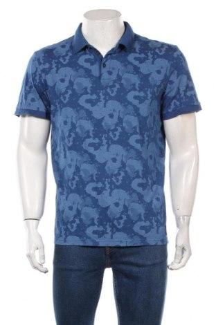 Мъжка тениска Tom Tailor, Размер M, Цвят Син, Памук, Цена 29,40лв.