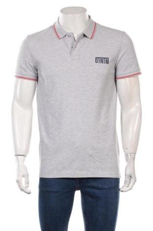Мъжка тениска Tom Tailor, Размер M, Цвят Сив, 95% памук, 5% вискоза, Цена 30,80лв.
