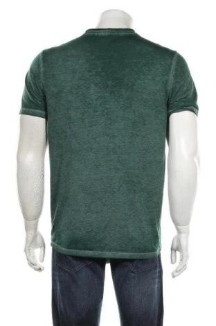 Мъжка тениска Tom Tailor, Размер M, Цвят Зелен, Цена 22,80лв.
