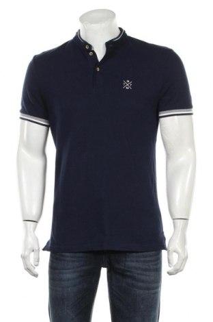 Мъжка тениска Tom Tailor, Размер M, Цвят Син, Цена 26,95лв.
