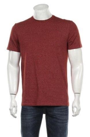 Мъжка тениска Tom Tailor, Размер M, Цвят Кафяв, 75% памук, 25% полиестер, Цена 31,50лв.