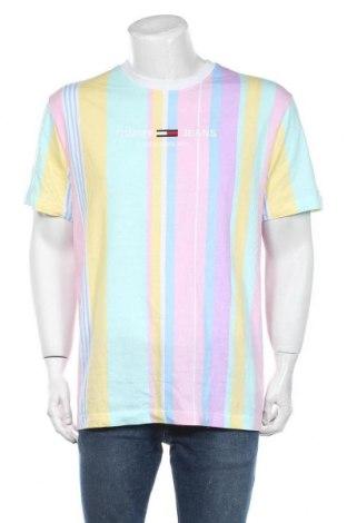 Мъжка тениска Tommy Hilfiger, Размер XL, Цвят Многоцветен, Памук, Цена 60,52лв.