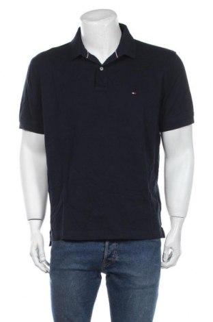 Мъжка тениска Tommy Hilfiger, Размер XL, Цвят Син, Памук, Цена 60,52лв.