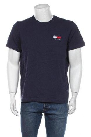 Мъжка тениска Tommy Hilfiger, Размер L, Цвят Син, Памук, Цена 48,96лв.